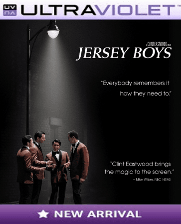 Jersey Boys SD Digital Ultraviolet UV Code