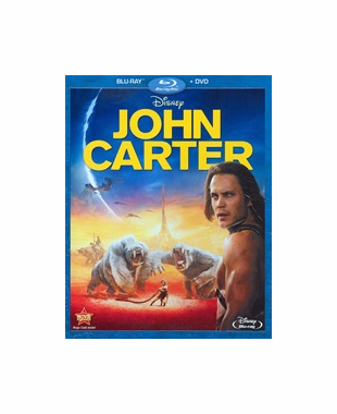 John Carter Blu-ray Movie (NO DVD)