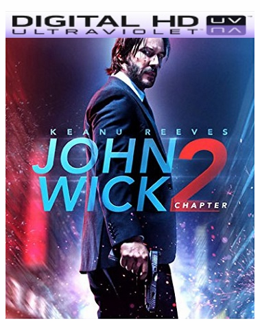 John Wick Chapter 2 HD Ultraviolet UV Code