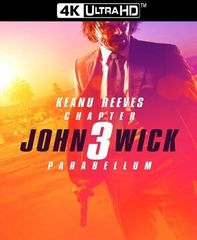 John Wick: Chapter 3 VUDU or iTunes 4K UHD Code