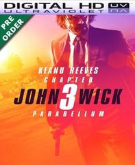 John Wick: Chapter 3 HD UV Code (PRE-ORDER WILL EMAIL ON OR BEFORE BLU RAY RELEASE)