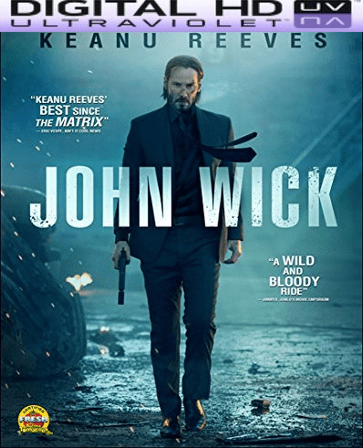 John Wick HD Digital Ultraviolet UV Code