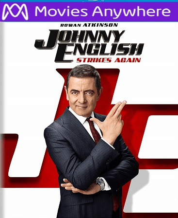 Johnny English Strikes Again HD UV or iTunes Code via MA