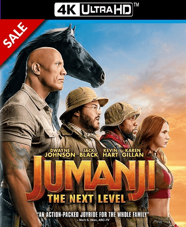 Jumanji: The Next Level 4K Vudu Ports To Movies Anywhere & iTunes (Insta Watch)