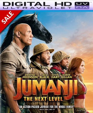 Jumanji: The Next Level HD Vudu Ports To Movies Anywhere & iTunes (Insta Watch)