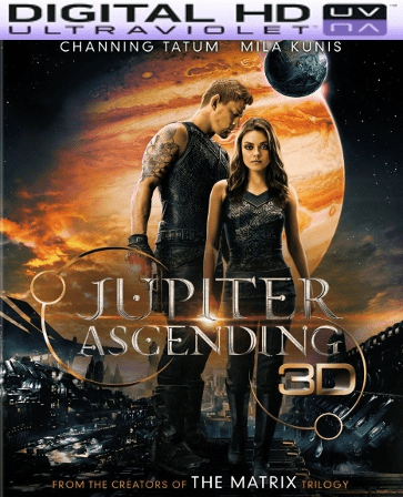 Jupiter Ascending HD Digital Ultraviolet UV Code