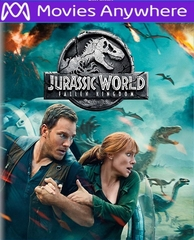 Jurassic World: Fallen Kingdom HD UV or iTunes Code via MA