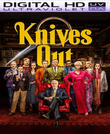 Knives Out HD Vudu Code