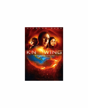 Knowing DVD Movie