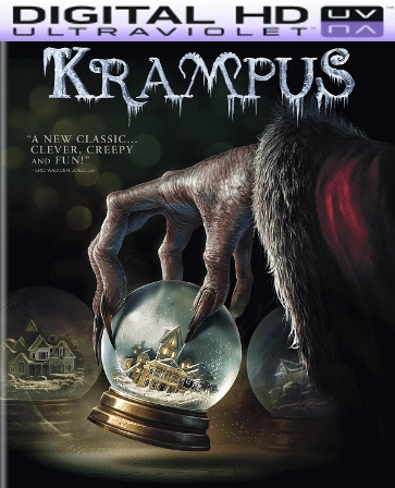 Krampus HD Digital Ultraviolet UV Code