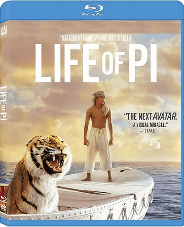 Life Of Pi Blu-ray (USED)