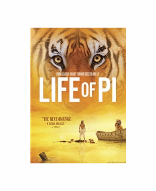 Life Of Pi DVD Movie