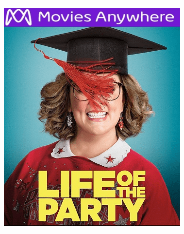 Life of the Party HD UV or iTunes Code via MA