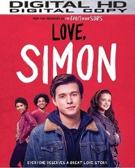 Love, Simon HD UV or iTunes Code