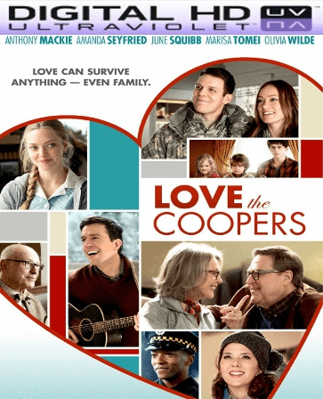 Love the Coopers HD Digital Ultraviolet UV Code