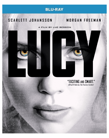 Lucy Blu-ray Single Disc
