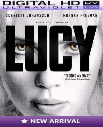 Lucy HD Digital Ultraviolet UV Code
