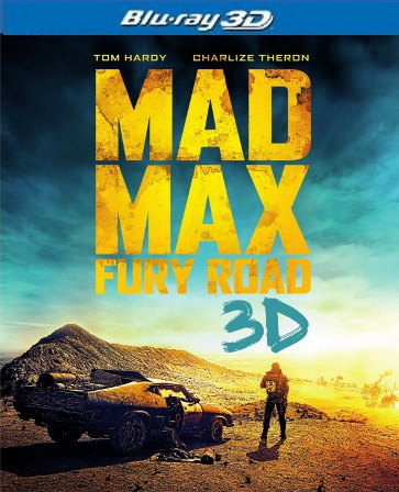 Mad Max: Fury Road Blu-ray 3D Single Disc