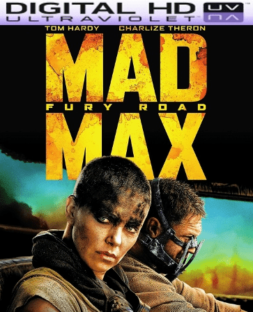Mad Max Fury Road HD Digital Ultraviolet UV Code
