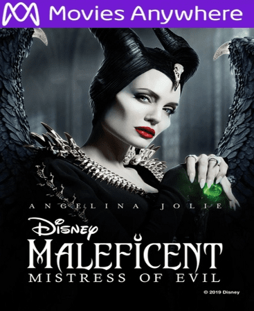 Maleficent: Mistress of Evil HD Vudu or iTunes Code via MA