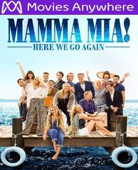 Mamma Mia! Here We Go Again HD UV or iTunes Code via MA