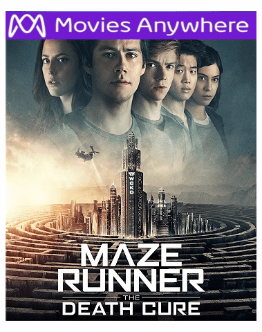 Maze Runner: Death Cure HD UV or iTunes Code via MA
