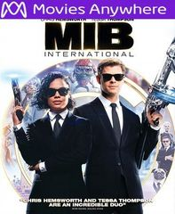 Men in Black: International HD Vudu or iTunes Code via MA