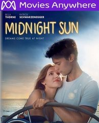 Midnight Sun HD UV or iTunes Code Via MA