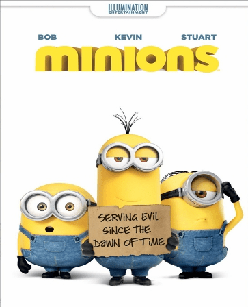Minions DVD (USED)