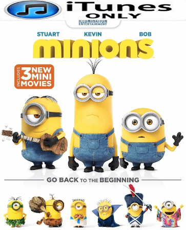 Minions HD Digital Copy iTunes Only