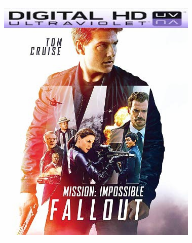Mission: Impossible - Fallout HD UV Code
