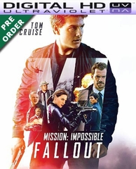 Mission: Impossible - Fallout HD UV Code (PRE-ORDER WILL EMAIL ON OR BEFORE BLU-RAY RELEASE DATE)