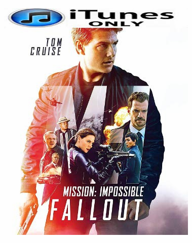 Mission Impossible Fallout iTunes 4K Code