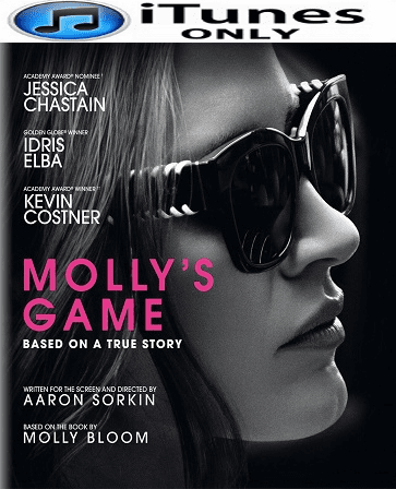 Molly's Game HD iTunes Code