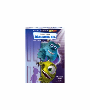 Monsters, Inc. DVD  (Two-Disc Collector's Edition)