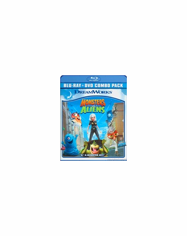 Monsters Vs Aliens (Blu-ray ONLY USED)