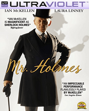 Mr. Holmes SD Digital Ultraviolet UV Code