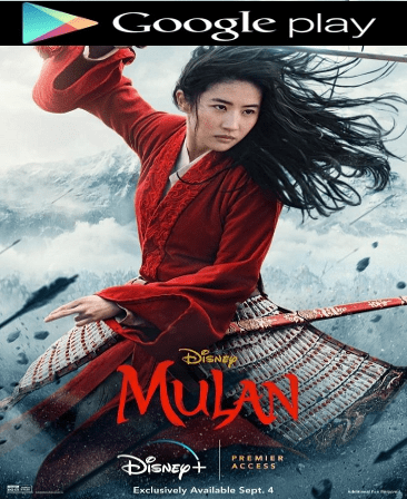 MULAN (2020) HD Google Play Code