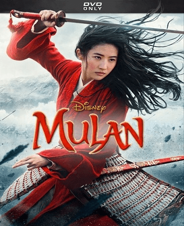 Mulan DVD Movie Live Action (2020)