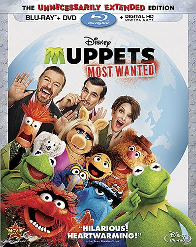 Muppets Most Wanted (Blu-ray + DVD)
