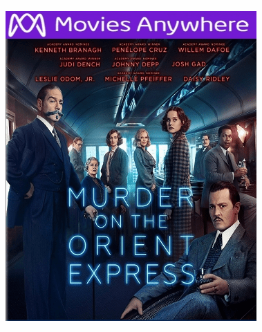 Murder On The Orient Express HD UV or iTunes Code
