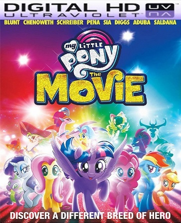My Little Pony: The Movie HD UV Code