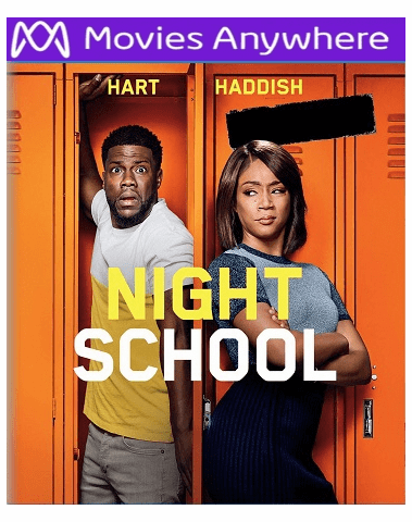 Night School HD UV or iTunes Code via MA
