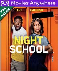 Night School HD UV or iTunes Code via MA (PRE-ORDER WILL EMAIL ON OR BEFORE BLU RAY RELEASE)