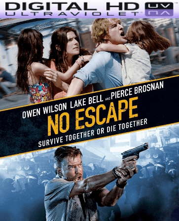 No Escape HD Digital Ultraviolet UV Code