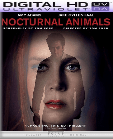 Nocturnal Animals HD Digital Ultraviolet UV Code (LIMITED SUPPLY)