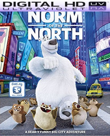 Norm Of The North HD Digital Ultraviolet UV Code