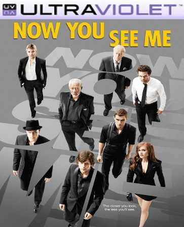 Now You See Me SD Digital UltraViolet Code