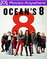 Ocean's 8 HD UV or iTunes Code via MA