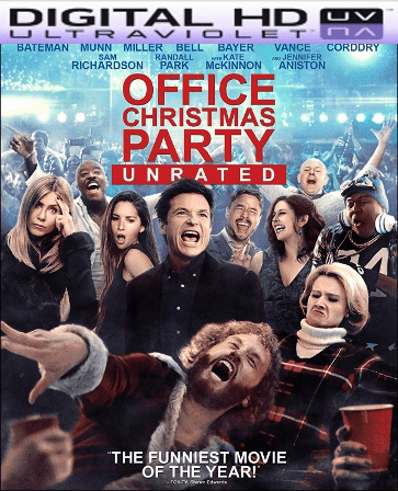 Office Christmas Party HD Digital Ultraviolet UV Code ( LIMITED SUPPLY)